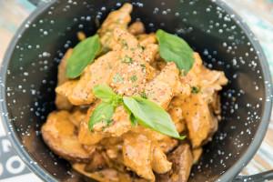 Pollo al Curry Rojo (Picante)